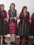 Folkloretänzerinnen in Bulgarien