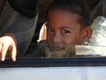 Junges Mädchen auf Samoa