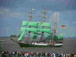 """""""Alexander von Humboldt"""" Bremerhaven Sail 2010"""