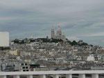 Blick auf den Montmatre, Paris