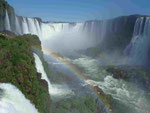 Iguassu Wasserfälle/Argentinien und Brasilien