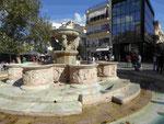 venezianischer Morosini- Brunnen in Heraklion,  Kreta, Griechenland