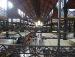 Markthalle in Budapest, Ungarn