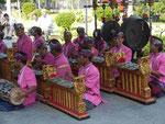 Musikgruppe auf Bali