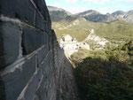 An der Großen Mauer bei Peking, Volksrepublik China