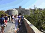 Amboise Tor an der Altstadtmauer von Rhodos, Griechenland