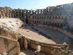 Römisches Amphitheater in Tunesien