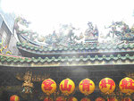 Daoistische Tempeldachfiguren, Taipei, Taiwan