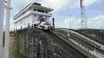 In der Panamakanalschleuse
