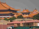 Nan Hua Temple Südafrika, Bronkhorstspruit, größter Tempel in Afrika und auf der südlichen Halbkugel, 2005 eröffnet; gehört zur Fo Guang Shan