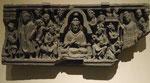 Szene aus dem Leben des Buddha, Gandhara, 3. Jh. n. Chr.