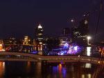 Elbphilharmonie nachts im Bau