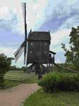 Bockwindmühle im Mühlenmuseum Gifhorn