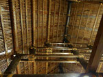 Gebundene Dachkonstruktion auf Westsamoa (Le Lagoto Resort)