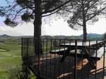 Blick auf San Gimignano, Italien