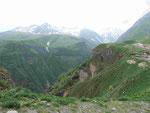 Bergwelt im Kaukasus