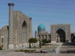 Medresen in Samarkand, Usbekistan