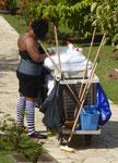 Hotelputzfrau auf Martinique am Aschermittwoch