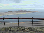 Blick vom Mirador del Rio, Lanzarote