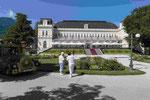 Kongresshaus im Kurpark von Bad Ischl in Oberösterreich