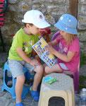 Kinder in Nessebar/ Bulgarien