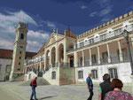 Die alte Universität von Coimbra, Portugal