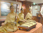 Thai Folklore Orchester auf der Star Clipper