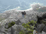 Blick vom Tafelberg, Kapstadt, Südafrika