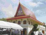 Wat Puttamongkon in Phuket-Town, Thailand