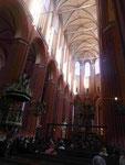 In der  gotischen St. Nikolai Kirche in Wismar