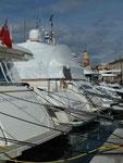 Im Hafen von St. Tropez, Frankreich