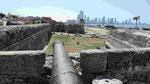 Befestigung der Altstadt von Cartagena de Indias/Kolumbien