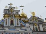 Detailansicht eines Kiewer Klosters