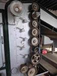 Teil einer Maschine in der Teefabrik auf Sao Miguel/Azoren