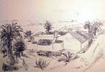 Alte Bauernhäuser auf La Gomera