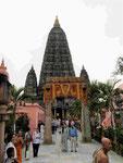 Mahabodhi Tempel von Bodhgaya, Indien