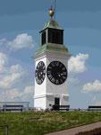 Uhrturm auf der Festung Petrovaradin, Novi Sad, Serbien