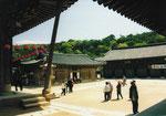 Kloster T'ongdo-sa, nördlich von Pusan, Südkorea