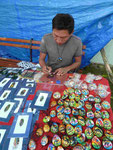 Indiokünstler in Panama City