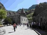Höhlenkloster Geghard in Armenien