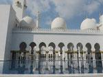 In der Sheikh-Zayed-Moschee, Abu Dhabi, V.A.E.