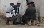 Alte Männer in Khiwa,Usbekistan