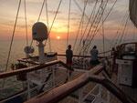 Abendstimmung in der Andaman See, Thailand