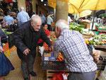 Auf dem Gemüsemarkt von Funchal, Madeira, Portugal