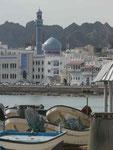 Im Hafen von Muscat, Oman