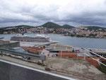 Im neuen Hafen von Dubrovnik, Kroatien
