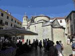 Zwei orthodoxe Kirchen in der Altstadt von Kotor, Montenegro