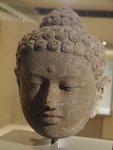Kopf eines Buddha, Borobudur, Zentral-Java