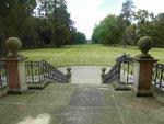 Treppe zum Schlosspark, Barockschloss Bothmer bei Boltenhagen, Ostsee, Mecklenburg