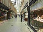 Alte Passage für Schmuck- und Uhrenhändler an der Buchananstreet, Glasgow, Schottland